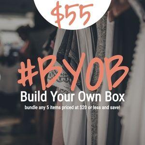 Accessories - BYOB-Build Your Own Box!